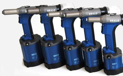NEW BRALO BNT PNEUMATIC RIVETING TOOLS